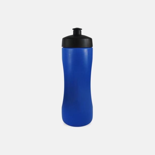 Blå Praktiska & snygga vattenflaskor med reklamtryck