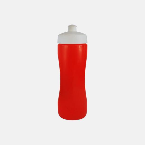 Röd Praktiska & snygga vattenflaskor med reklamtryck