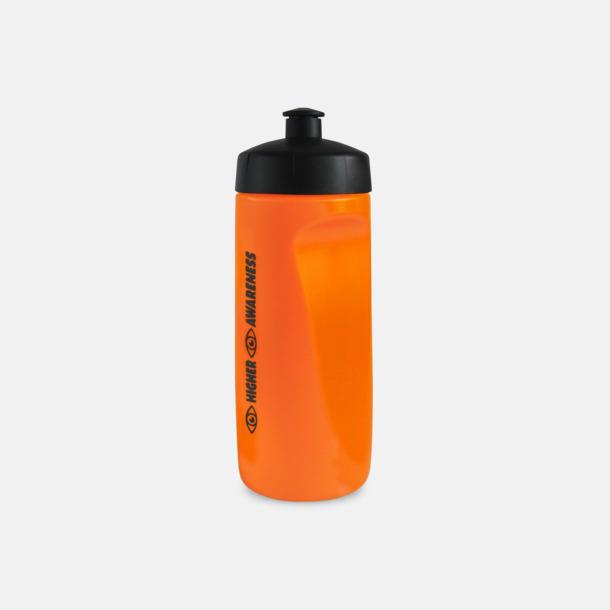 Screentryck Mjukare sportflaskor på 60 cl med reklamtryck
