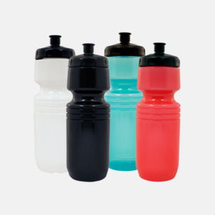 Populära vattenflaskor med reklamtryck