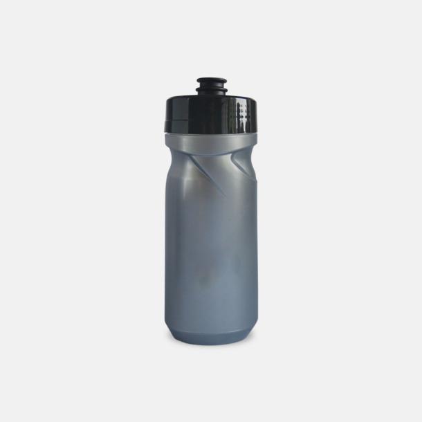 Silver (60 cl) Cykelflaska eller extra stor vattenflaska med reklamtryck