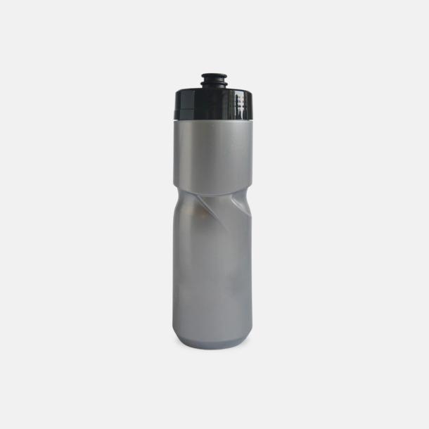 Silver (80 cl) Cykelflaska eller extra stor vattenflaska med reklamtryck