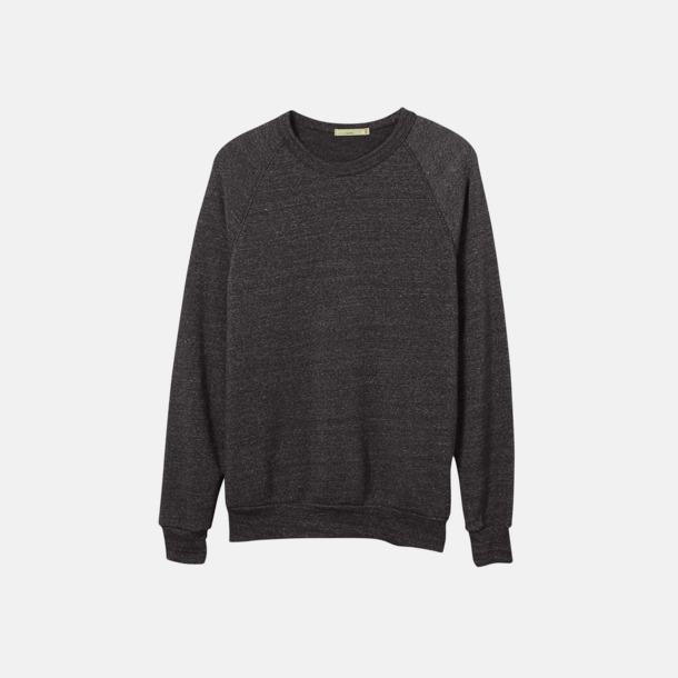 Eco Black Unisex tröjor eko med reklamtryck