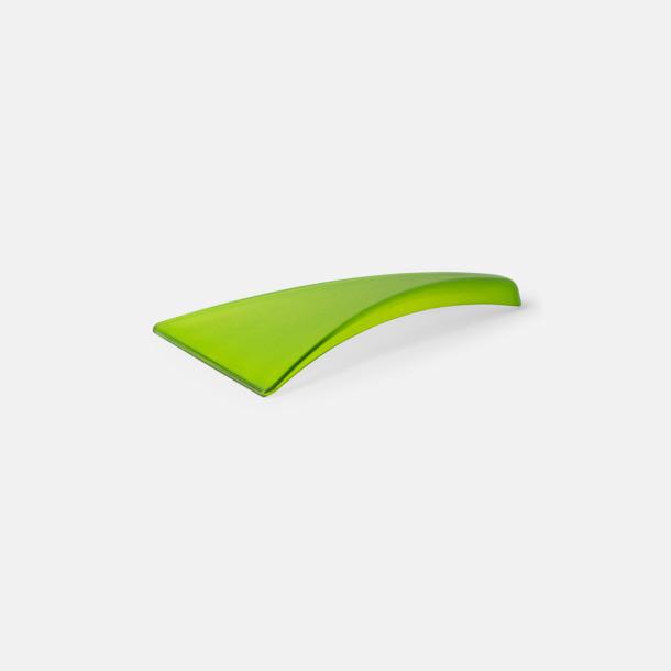 Transparent Limegrön (PMS 368) Ergonomisk isskrapa med tryck