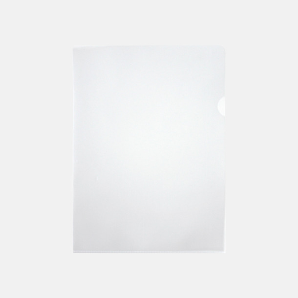 Ofärgad Plastmapp med eget reklamtryck