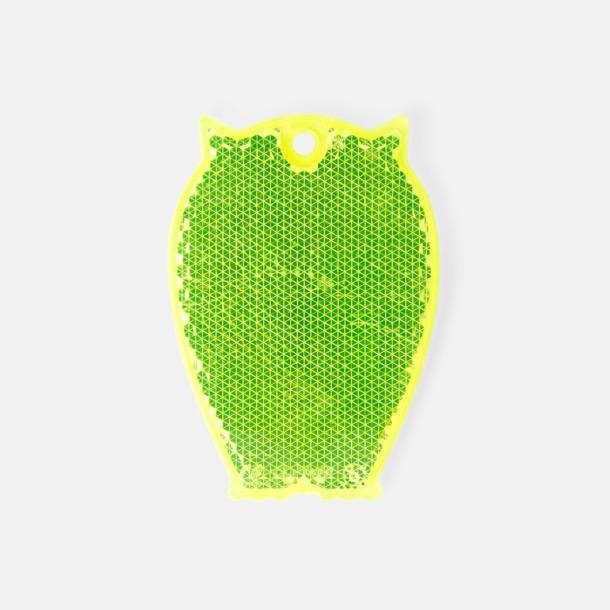 Uggla (gul) En hängreflex i mängder av olika former och färger