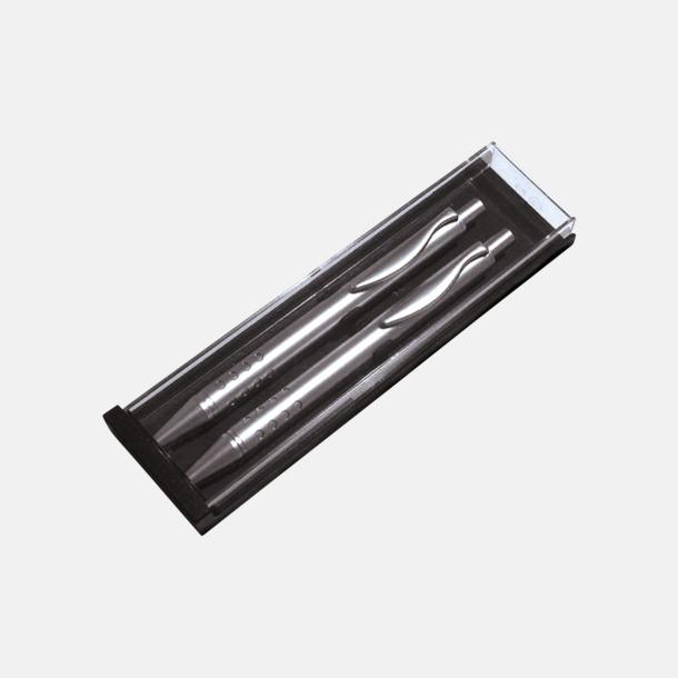 Dubbel pennask plast (se tillval) Metallpenna med vacker form