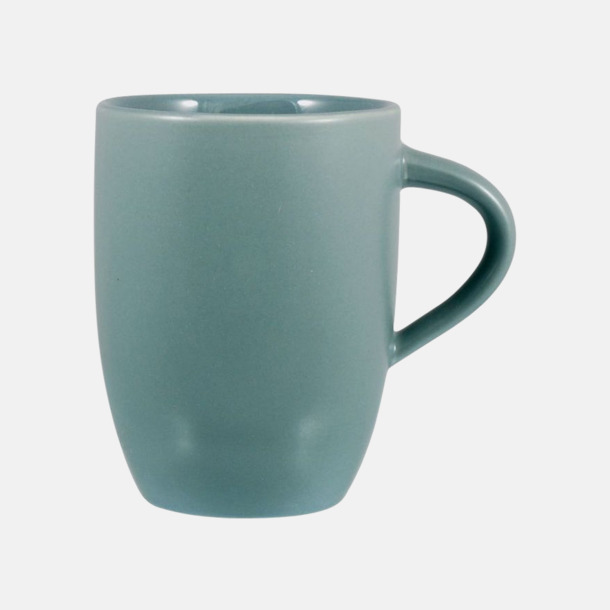 Grå Snygga kaffemuggar med reklamtryck