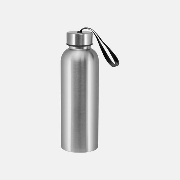 Svart Trendiga metallvattenflaskor med reklamtryck