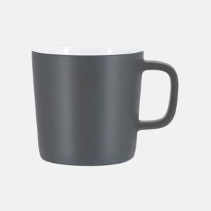 Kaffemuggar med kantiga öron - med reklamtryck