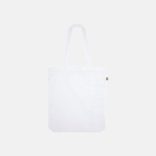 Dove White Tygkassar i återvunnet material med reklamtryck