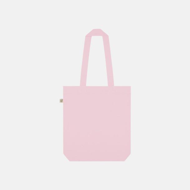 Candy Pink Ekologiska tygpåsar i ekologiskt bomull