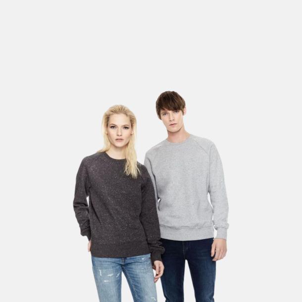 Eko unisex sweatshirts med reklamtryck
