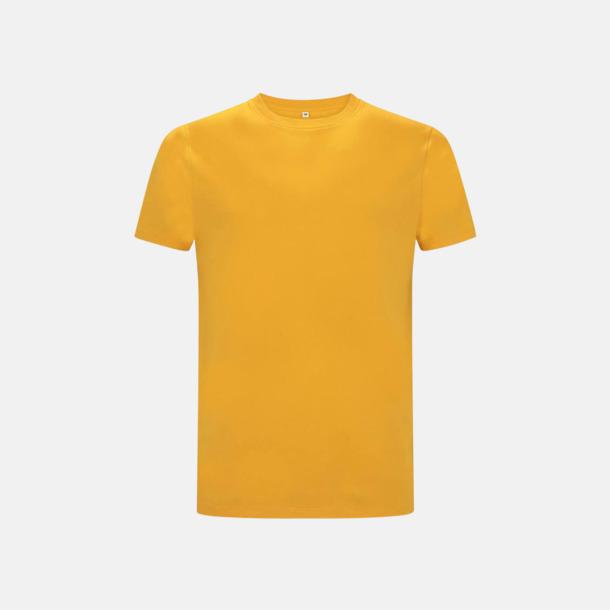 Gold Unisex eko t-shirts med reklamtryck