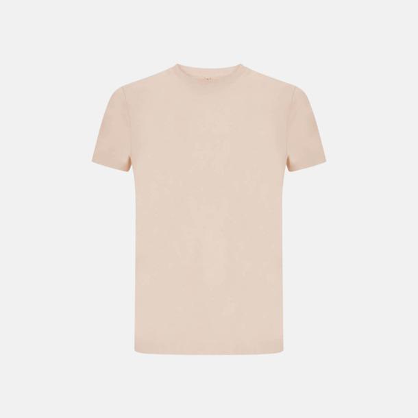 Misty Pink Unisex eko t-shirts med reklamtryck