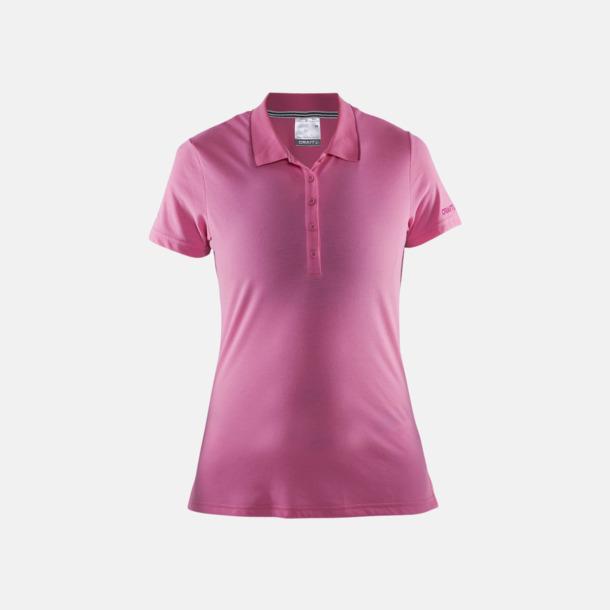 Pop/Smoothie (dam) Pikétröjor från Craft i herr- och dammodell med reklamtryck