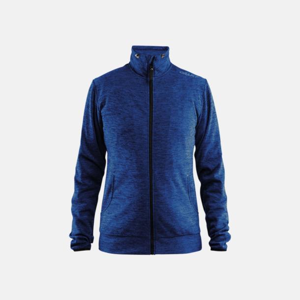 Deep Melange Leisure Jacket (dam) Craft funktionsjacka med huva i herr- och dammodell med reklamtryck