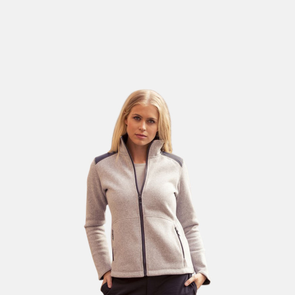 Stickade fleece jackor från Craft med eget reklamtryck