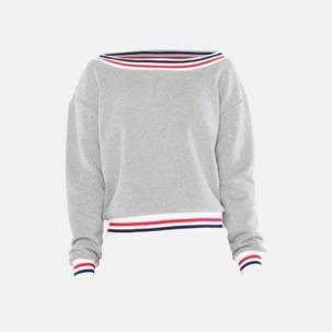 Sweatshirt med reklamtryck