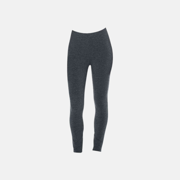 Charcoal Tjockare leggings med reklamtryck