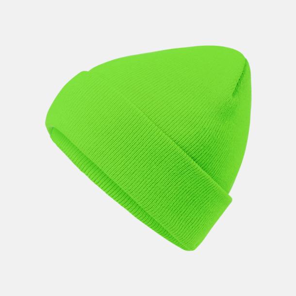 Bright Green Mössor med brodyr