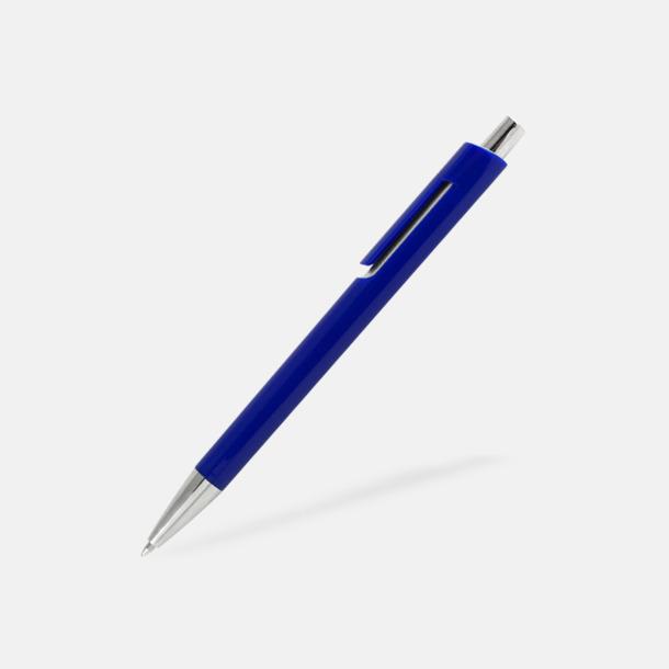 Blå Bläckpennor i unik design med reklamtryck
