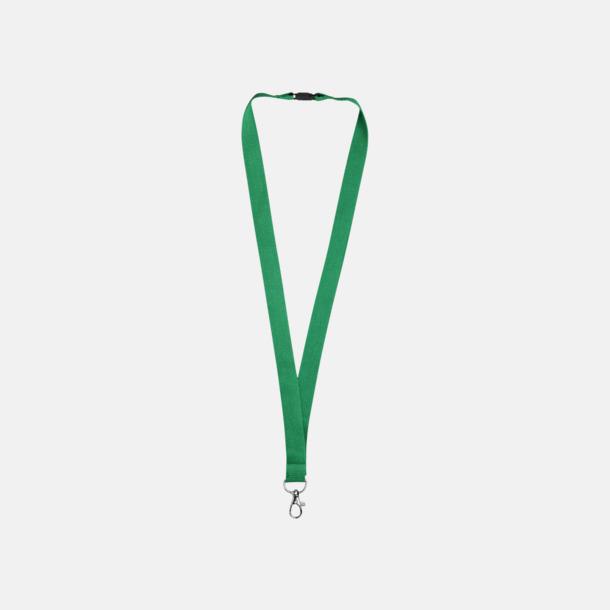 Grön Bomullsband med egen logga