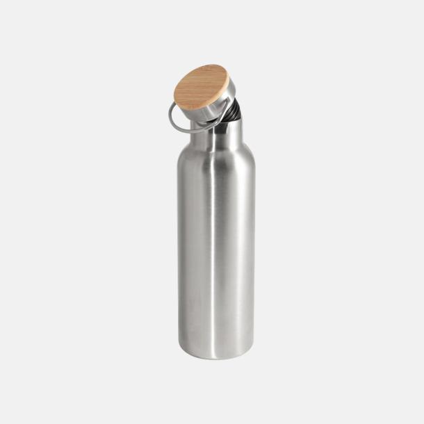 Bambukork (se tillval) Fina 60 ml-termosflaskor med reklamlogo
