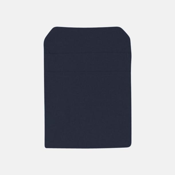 Mörkblå Förklädesfodral med reklamtryck
