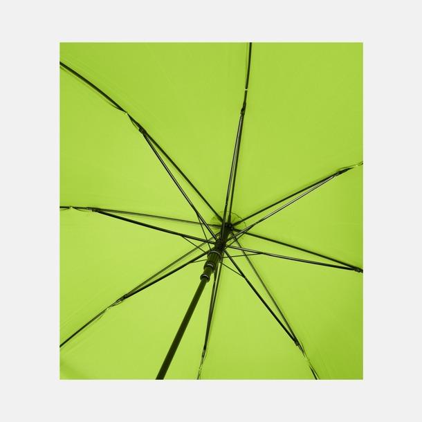 """23"""" paraplyer av återvunnen plast med reklamtryck"""