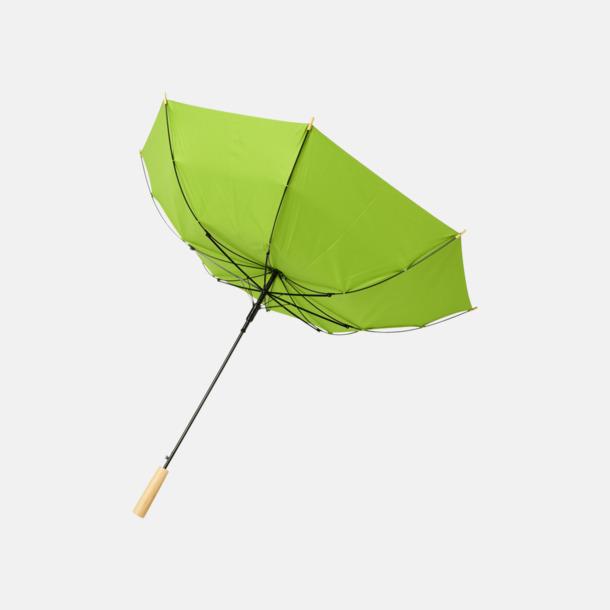 """Stormsäkert 23"""" paraplyer av återvunnen plast med reklamtryck"""