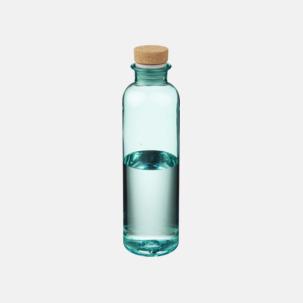 Vattenflaskor med korklock med reklamtryck
