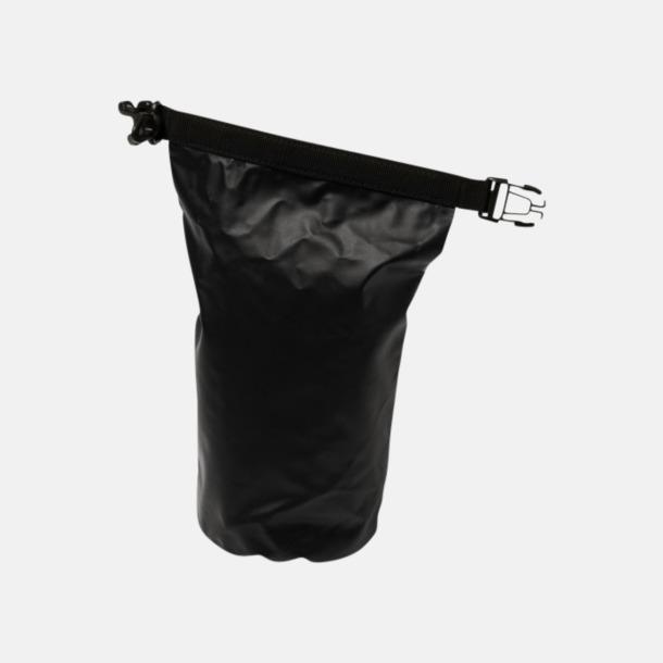 Svart 30-delars första hjälpen kit i vattentät väska md reklamtryck