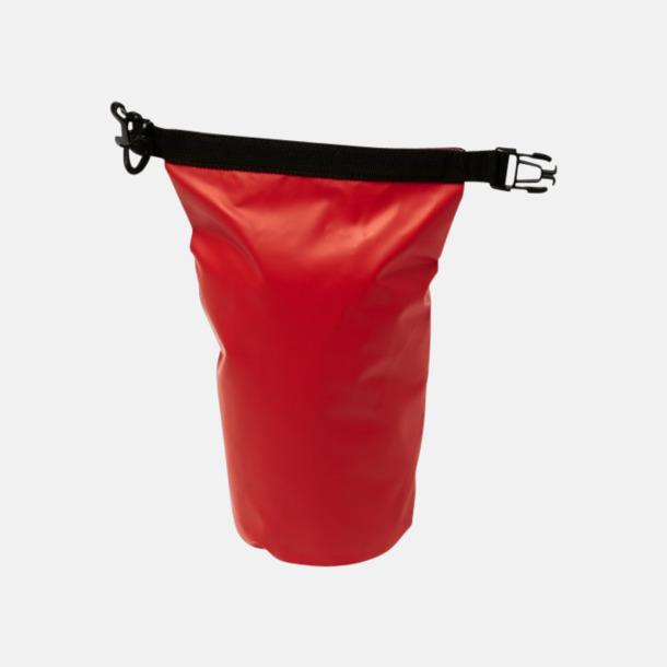 Röd 30-delars första hjälpen kit i vattentät väska md reklamtryck