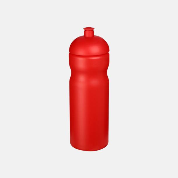 Röd 650 ml sportflaskor med reklamtryck