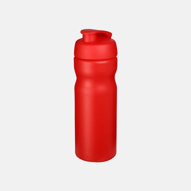Röd 65 cl sportflaskor med reklamtryck