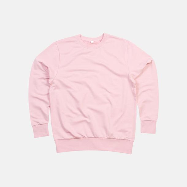 Soft Pink Tröjor i ekobomull & rPET för herr - med reklamtryck