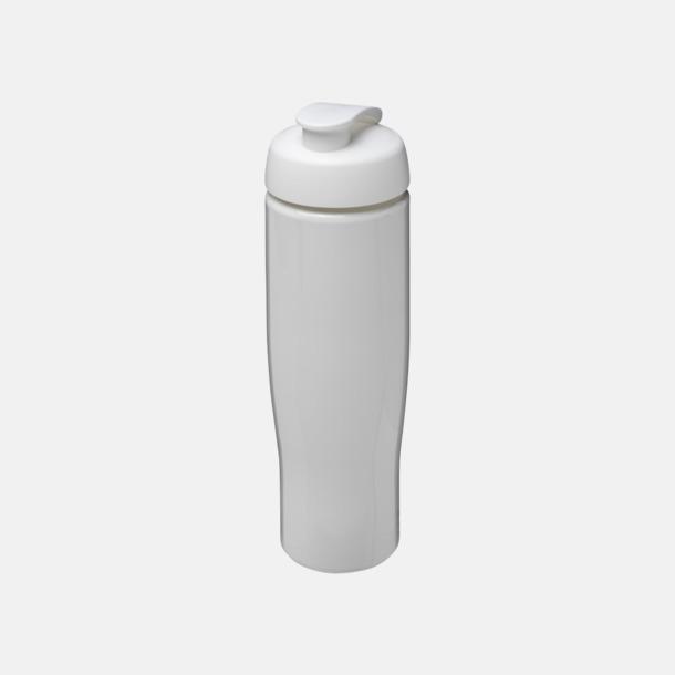 Vit 70 cl flaskor i återvunnet material med reklamtryck