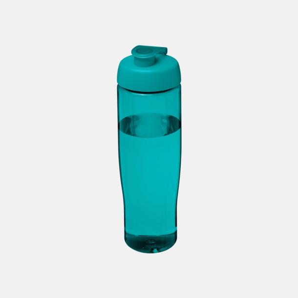 Aqua 70 cl flaskor i återvunnet material med reklamtryck