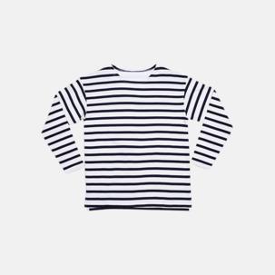 Eko randiga barn t-shirts med reklamtryck