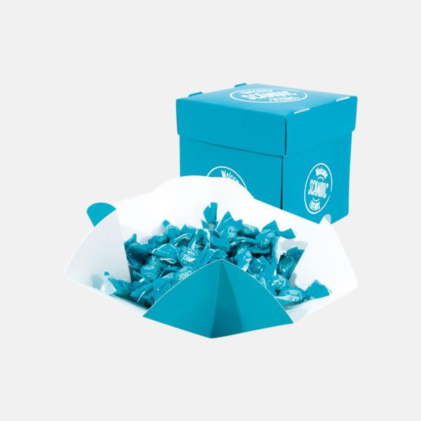 Pappersask (se tillval) Mintkolor med reklamtryck