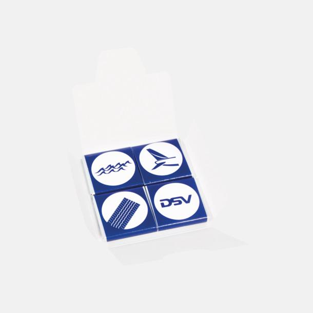 4-pack (se tillval) Chokladbitar med Expressleverans