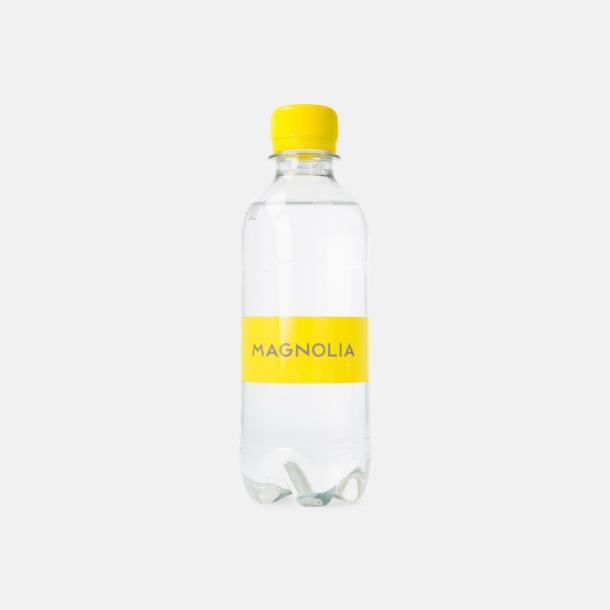 Transparent etikett Vatten med egen etikett