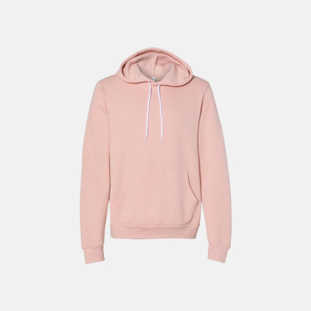 Peach Unisex fleece hoodies med reklamtryck