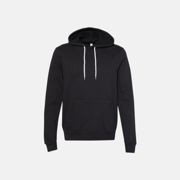 DTG Black Unisex fleece hoodies med reklamtryck