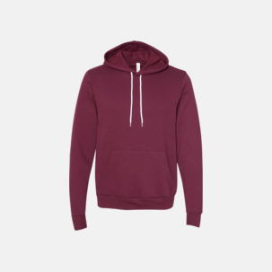 Unisex fleece hoodies med reklamtryck