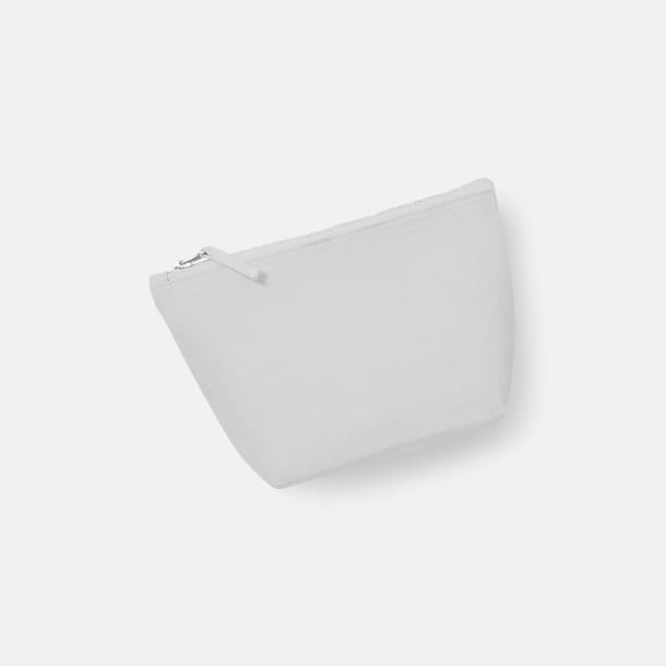 Ljusgrå Bomullsfodral i 3 storlekar med reklamtryck