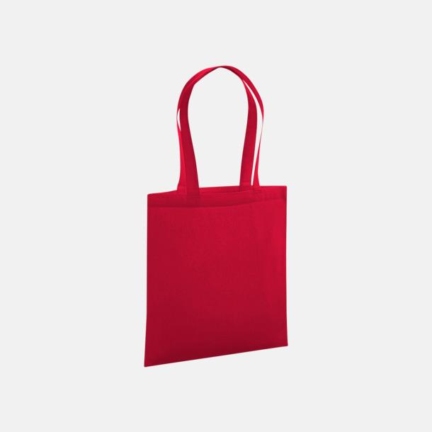 Classic Red Eko tygkassar i premiumbomull med reklamtryck