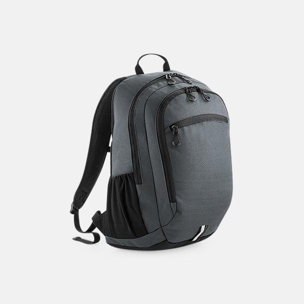 Graphite Grey Friluft- & laptopryggsäckar med reklamtryck