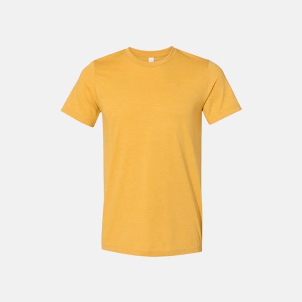 Heather Mustard T-shirts för herr och dam - med reklamtryck
